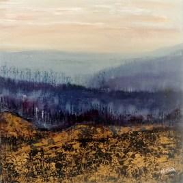 The Studio Art Gallery   2021 Mandela Day Block Art Exhibition   Natalie Muir - Calm After the Storm