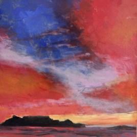 The Studio Art Gallery   2021 Mandela Day Block Art Exhibition   Peter Gracie - Dusk
