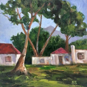 The Studio Art Gallery | 2021 Mandela Day Block Art Exhibition | Sue Sherman - Overberg Farm