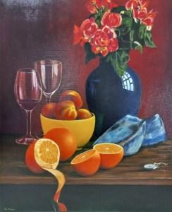 The Studio Art Gallery | AAA Students' Exhibition 2021 | Tom McCrorie - Orange Peel