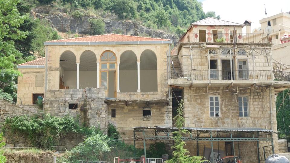 /cafè al nabeh, jezzine: integrated conservation and energy retrofit/ lebanon 2015