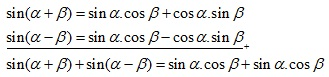 rumus trigonometri perkalian