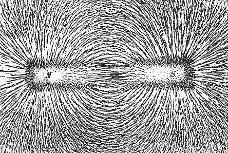 visualisasi nyata medan magnet