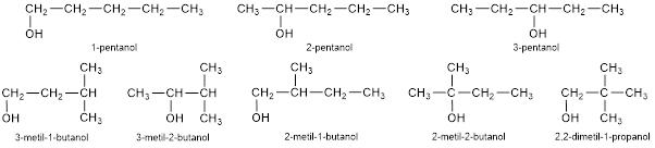 contoh soal isomer alkohol