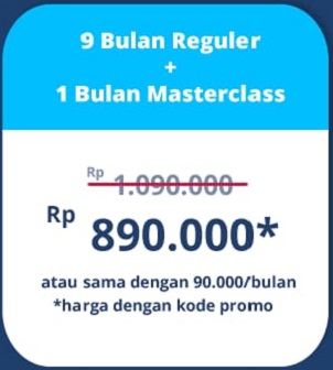 kode promosi quipper video 9 bulan plus masterclass