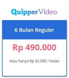 paket quipper video 6 bulan reguler