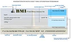 pembayaran dengan nota debit
