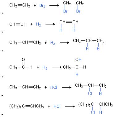 contoh reaksi adisi