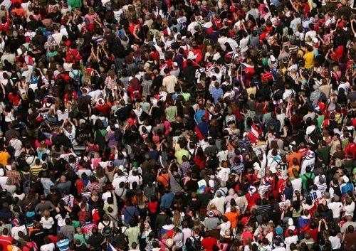 ilustrasi penduduk