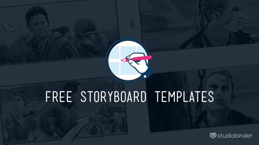 Download Your Free Filmmaking Production Documents and Templates Download Free Storyboard Template   StudioBinder min