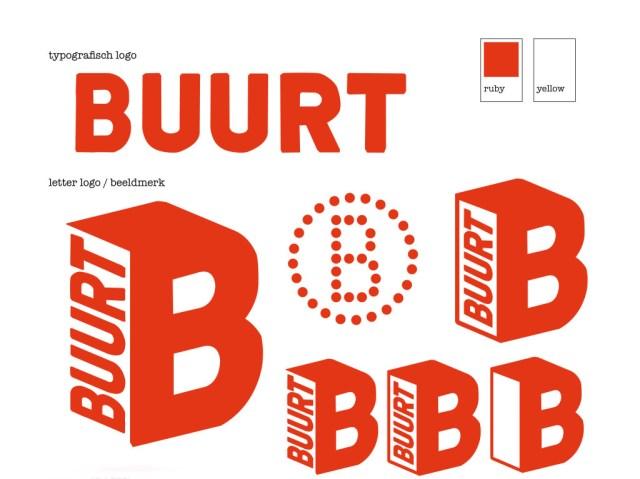 BUURT logo verzamelvel ex33tra variant