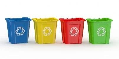 cestini per raccolta rifiuti differenziata