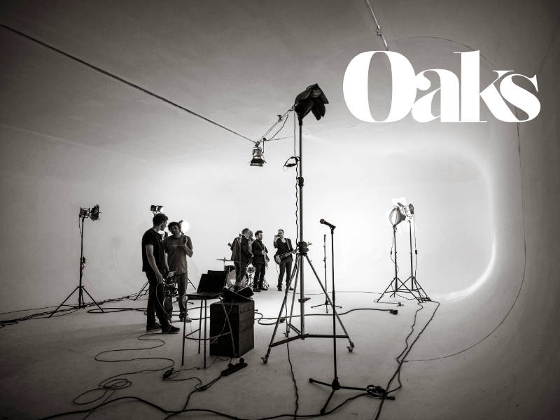 You are currently viewing <h3>Oaks </h3></br>Site internet pop-rock