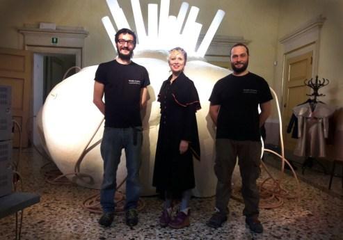 8-StudioCromo con Georgina Starr