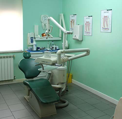 Sala opreatoria dello Studio Dentistico d'Alba