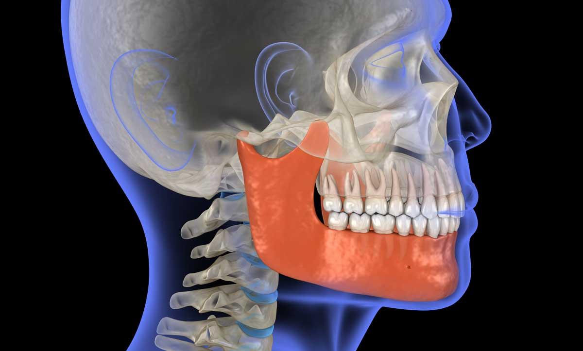 problemi alla mandibola
