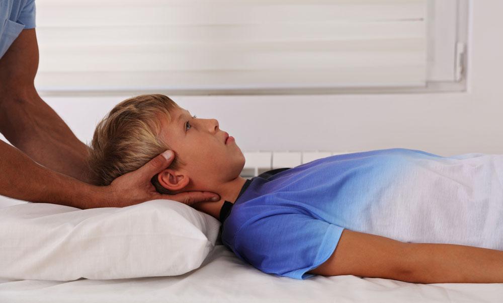 osteopatia per bambini
