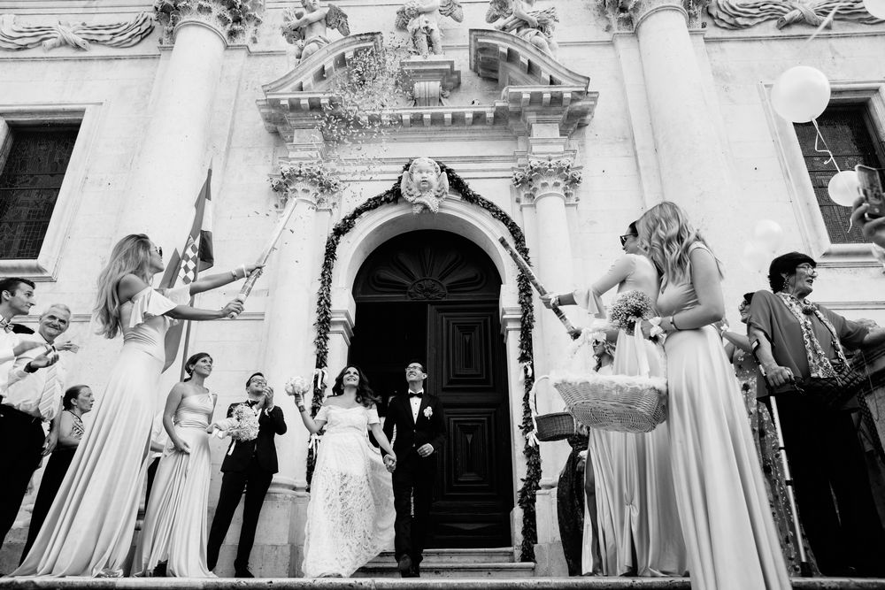 Croatian traditional Wedding