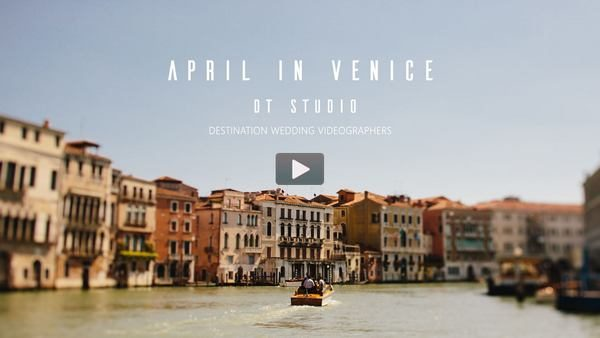 destination wedding videographer Venice