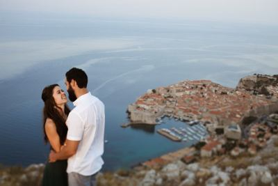 perfect place for Dubrovnik wedding session