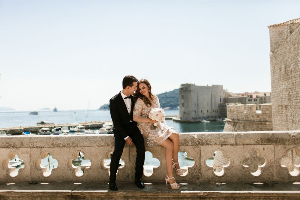 Weddings session in Dubrovnik