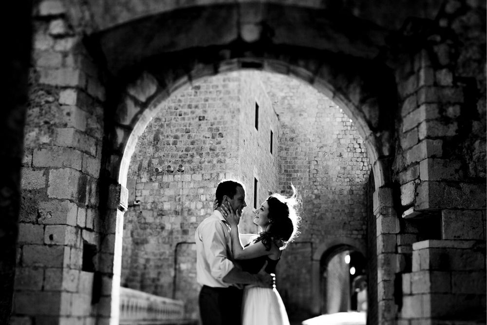 Engagement photo shoot in Dubrovnik by DTstudio, Dubrovnik Photographer.