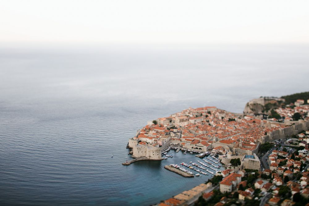 Dubrovnik is a friendly place for same-sex weddings in Croatia