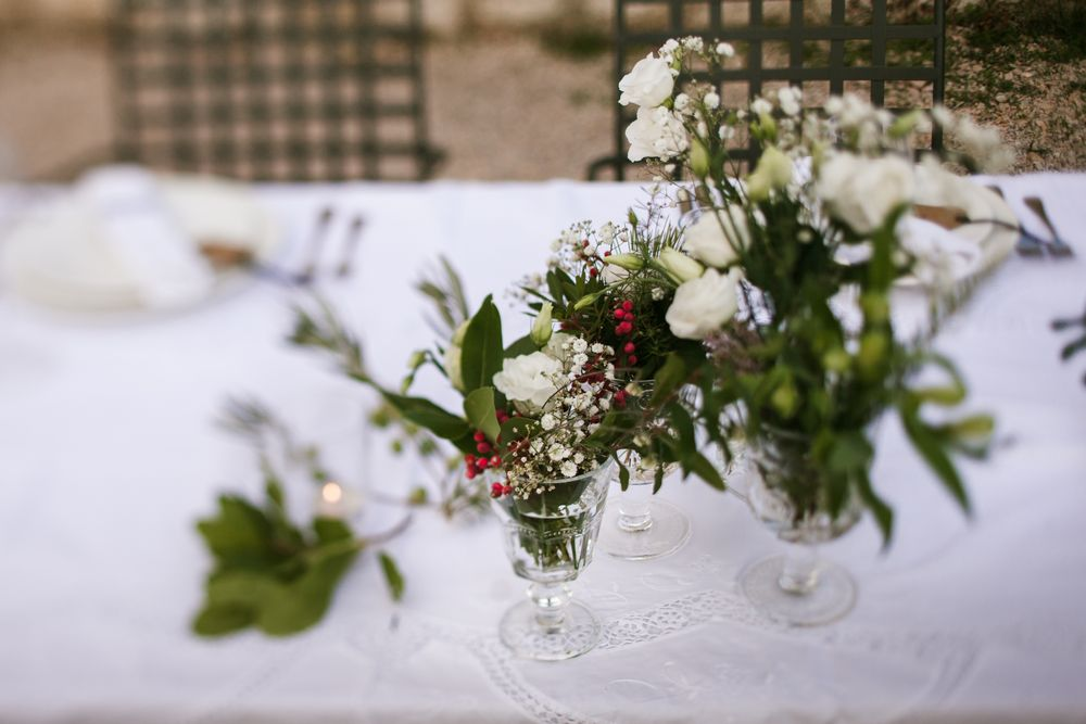 Details on the wedding table Eon & Warrick's Gay destination wedding in Dubrovnik, Croatia