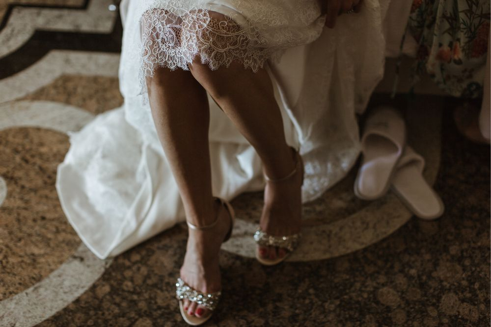 Getting ready at Villa Gippini, Lake Orta, Italy. Photo by DTstudio Italy wedding photographer