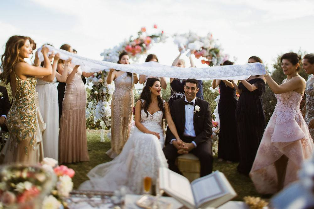 Persian wedding ceremony. Marbella weddings videographer & photographer