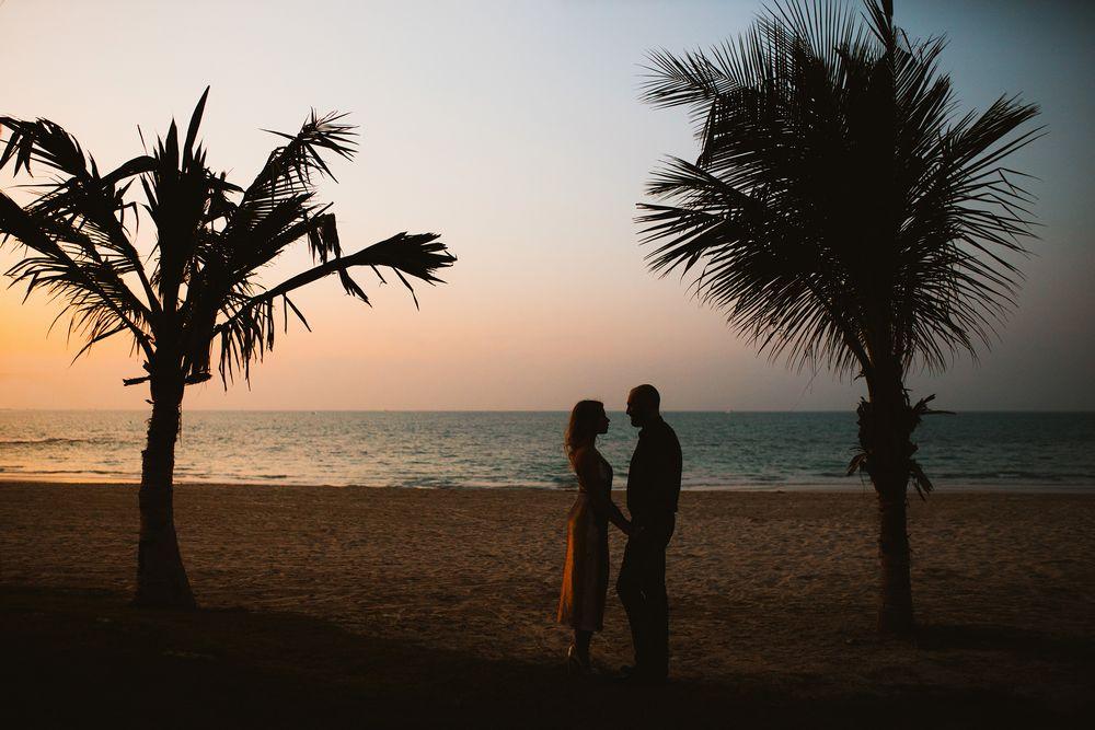 Prewedding photo shoot in Dubai