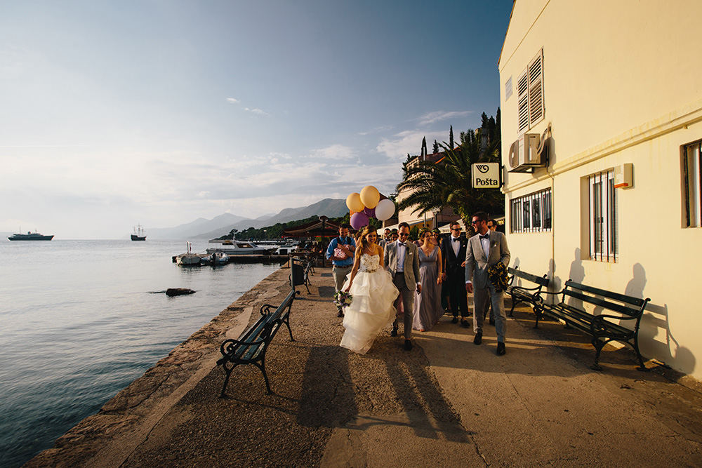 Weddings at Croatian Islands