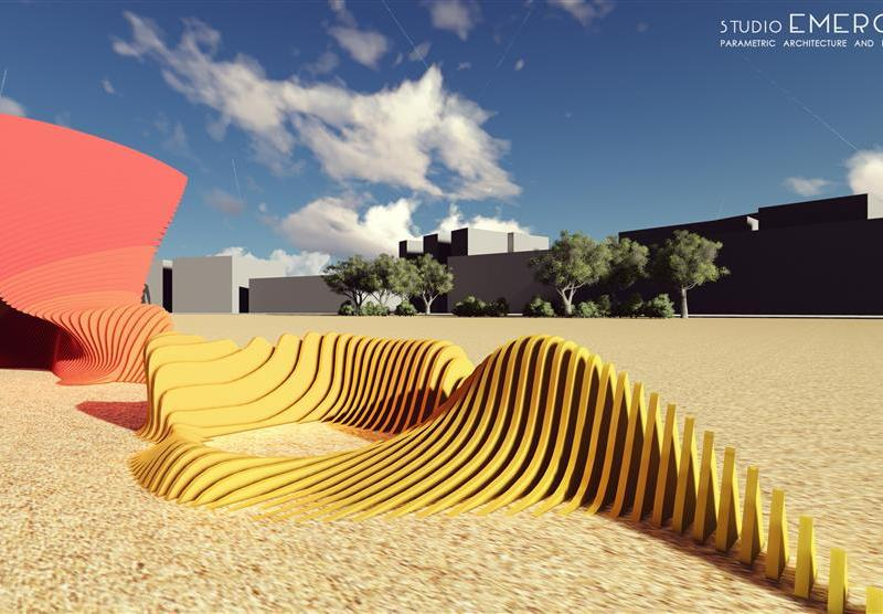 WorldBuild India, public spaces, urban intervention, outdoor, Nerolac, Landscape design