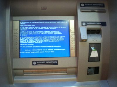 I prelievi bancomat a rischio
