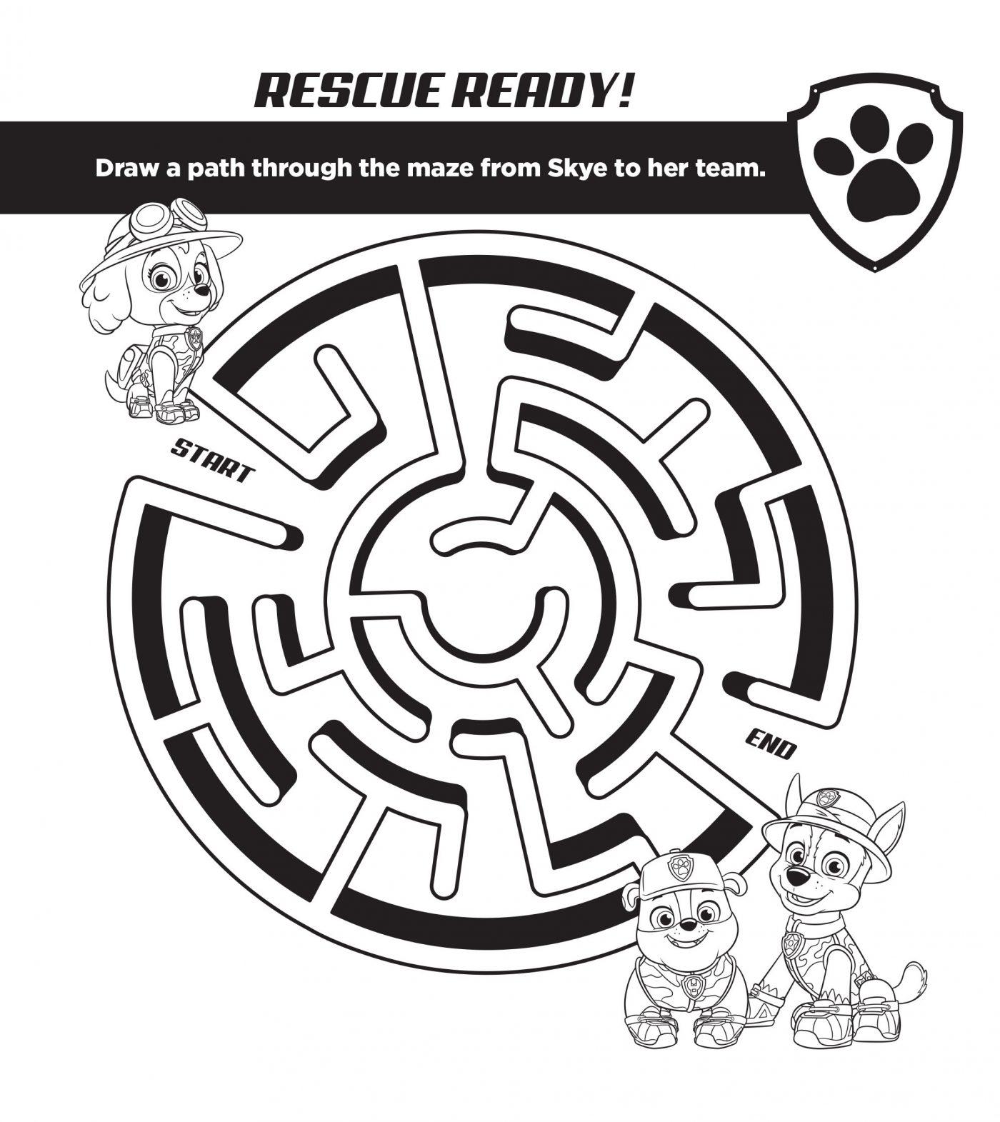Paw Patrol Puppy Power Free Activities