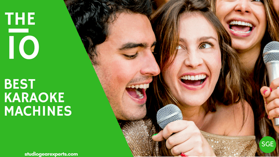 best karaoke machines for home use, adults and professionals