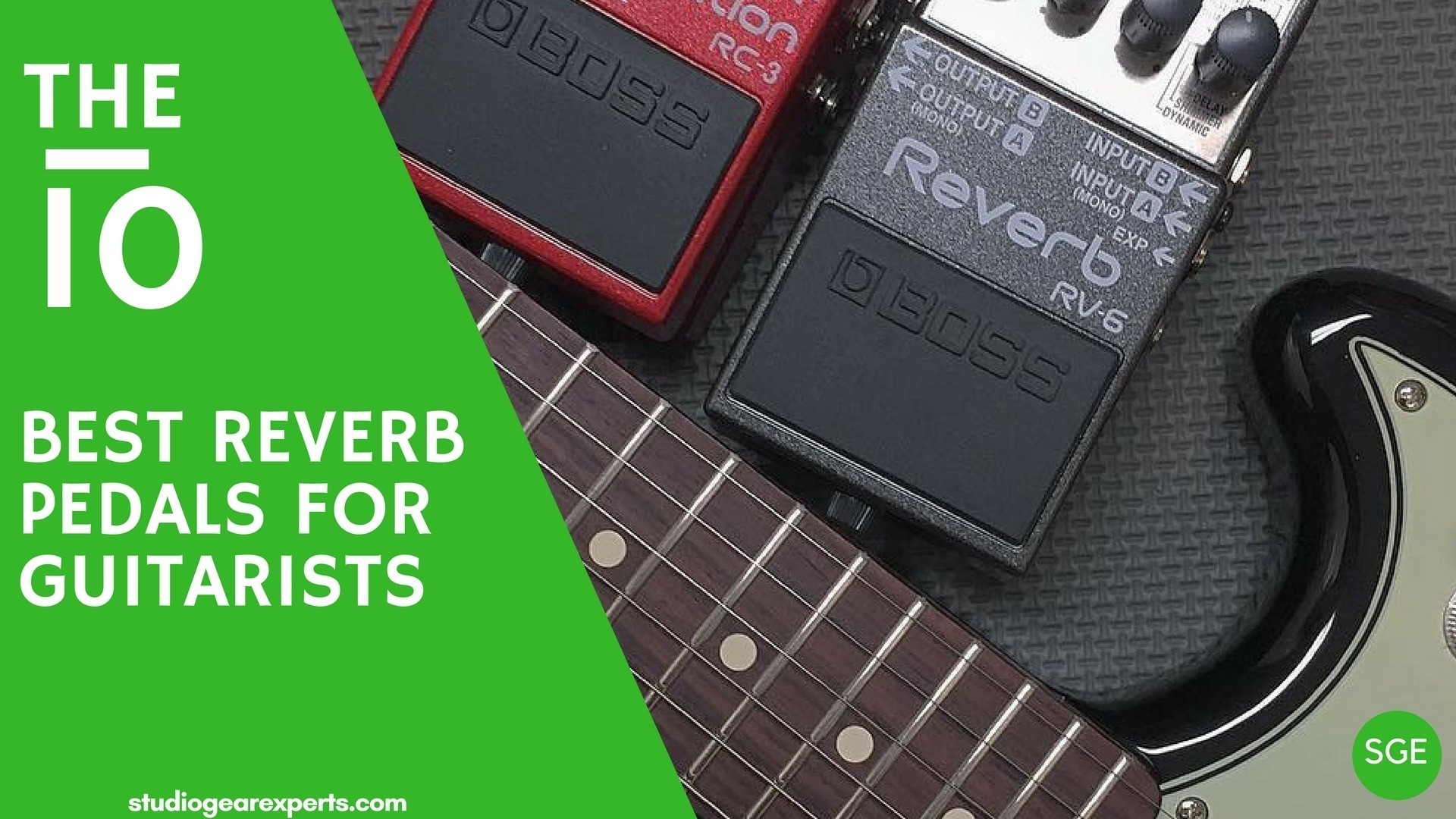 best reverb pedals for guitarists