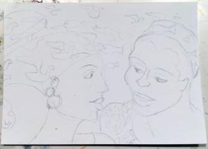Trina Hyman sketch