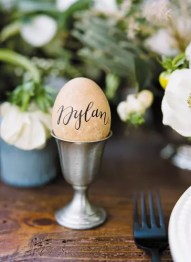 Egg : http://southernweddings.com/2013/11/14/southern-weddings-v6-fine-feathered-fete/
