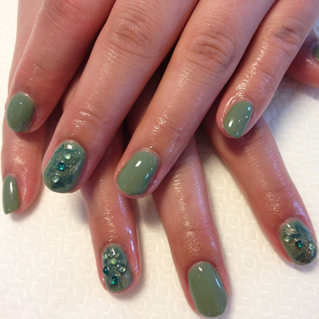 Gellack på naturlig nagel