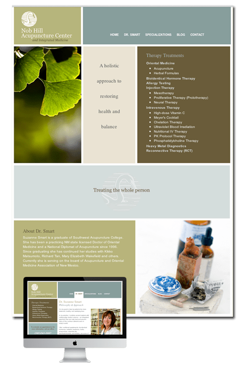 Albuquerque Website Design By Studio Hill Design