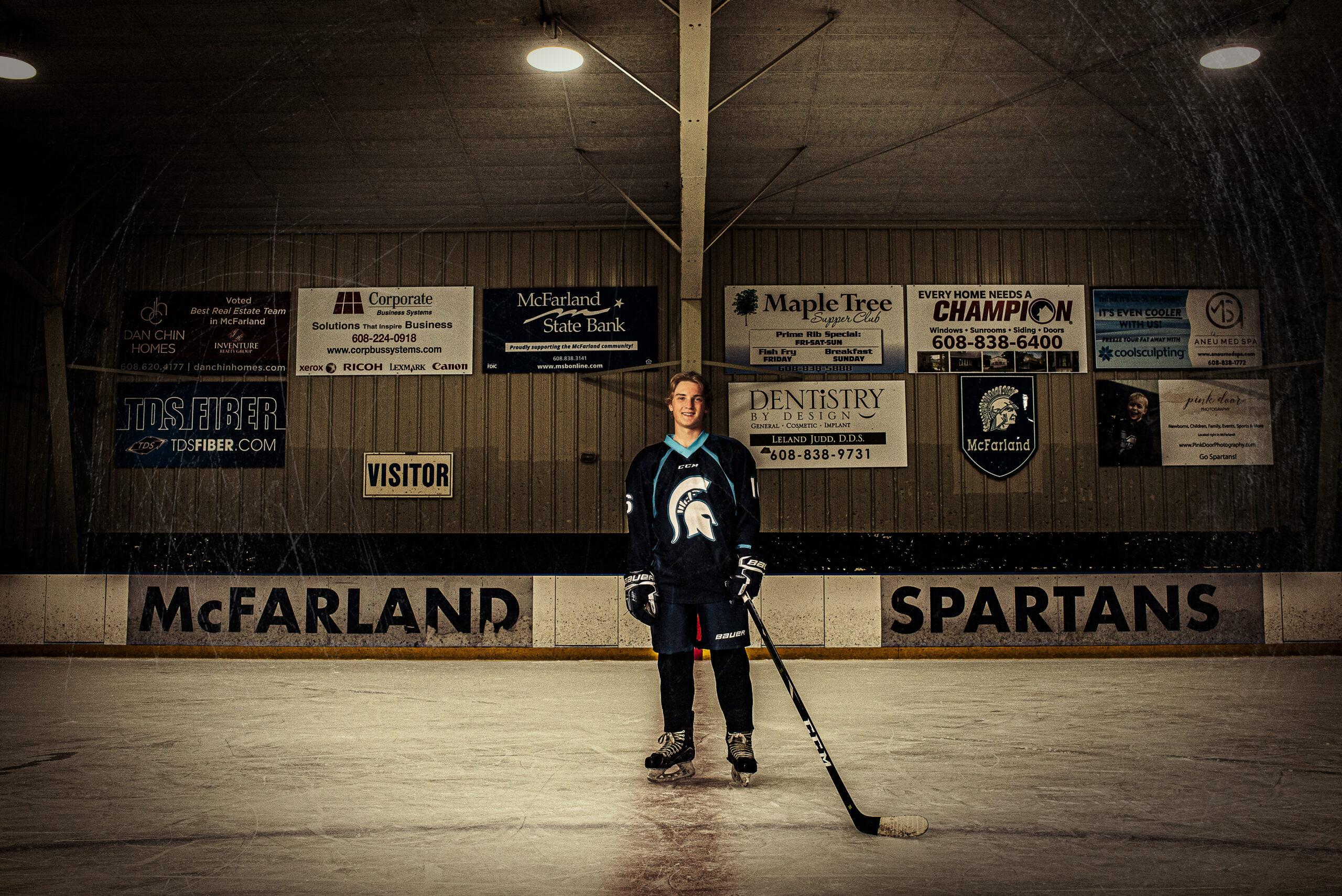 Hockey Sports High School Senior Photo