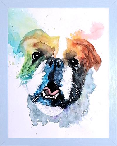 Custom Watercolor Pet Portraits