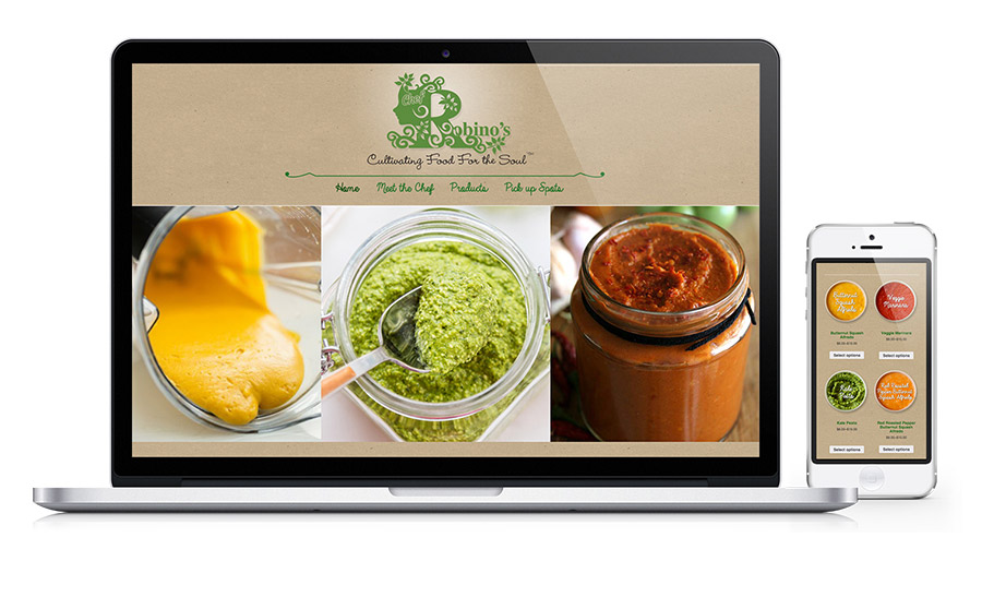 Robinos Food Truck - Sale of sauces and food truck Website