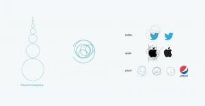 fibonacci logos apple, twitter pepsi