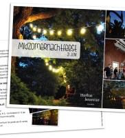 Uitnodiging Midzomernachtfeest Hortus Studio Kaboem!