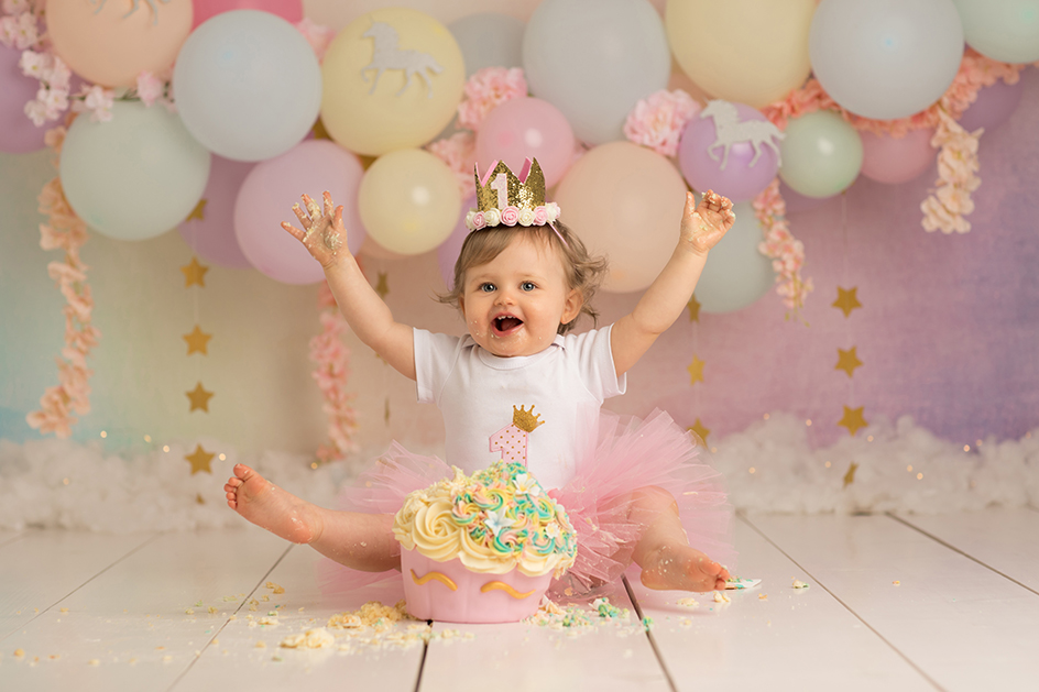 Cake Smash Photography For Your Little Ones First Birthday