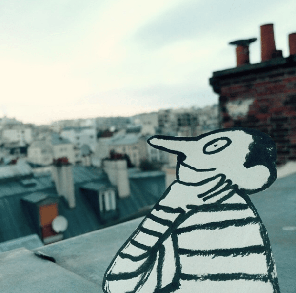 In the picture: Jean Jullien