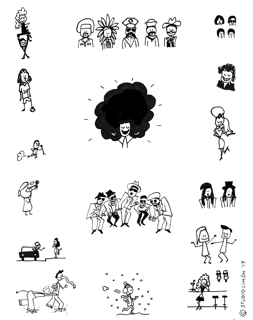 People - illustration Studio Limón