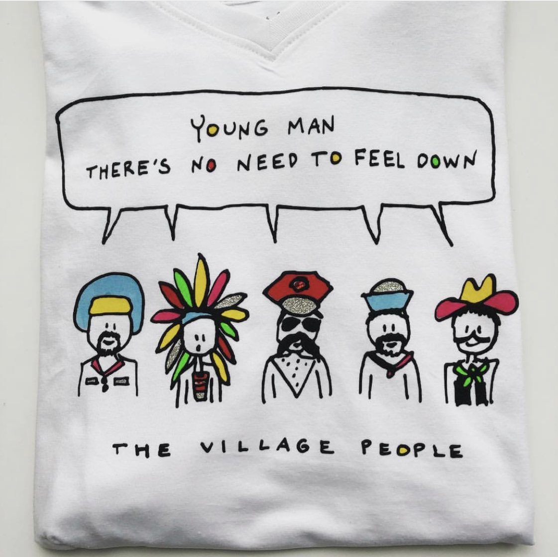 Shirt the village people